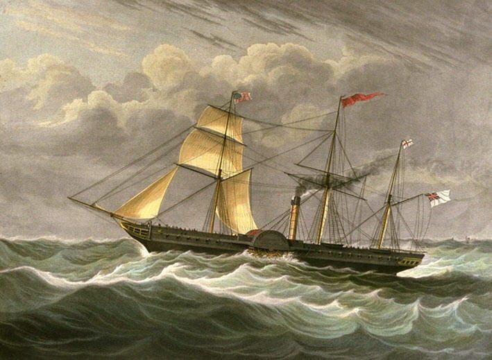 SS British Queen (1838-1844) British-queen