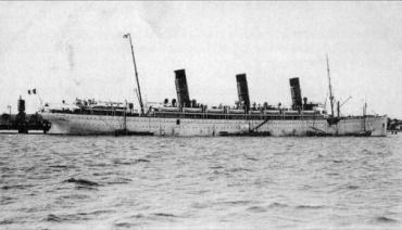 Το S/S Burdigala στο λιμάνι του Bordeaux το 1913.