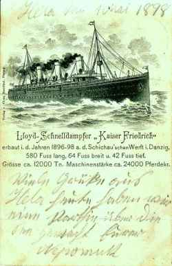 Karte 1898