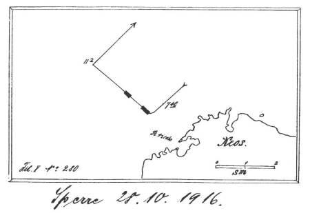 Minnensperre-32, 28.10.1916