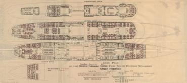 S/S Kaiser Friedrich Acommodation Plans