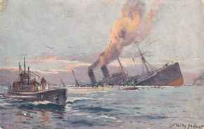 Uboot Dampfer